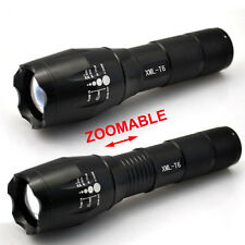8000LM 7Mode CREE XM-L XML T6 LED Flashlight Torch Lamps Light Focus Zoomable