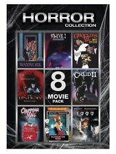 Horror Collection 8 Movie Pack DVD - Chopping Mall Slaughter High Waxwork - Rare