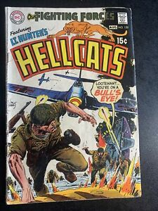 Our Fighting Forces #120 Featuring Lt Hunter's Hellcats - Joe Kubert Cover