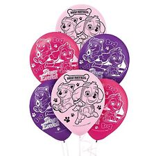 Paw Patrol Skye Girl Latex Party Balloons 6 -18X