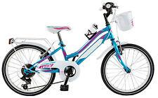 "Bicicletta MTB GALANT LY20CC per bambina 20"" acciaio shimano 6 V bici bimba bike"