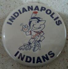 Vintage Indianapolis Indians Button Minor League Baseball