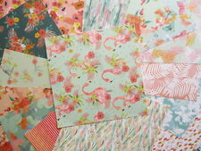 "Paradise Crush 6x6"" Scrapbook Papers 16 sheets by First Edition - tropical"