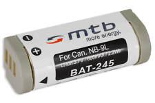 Batería NB-9L NB9L para Canon Ixus 1000 HS 1000HS, IXY 50S