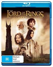 The Lord Of The Rings - The Two Towers (Blu-ray, 2010, 2-Disc Set) (D129)