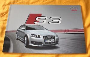 Audi S3 2007 Prospekt Brochure Catalogue Prospetto Catalog Depliant Prospecto