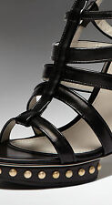"JASON WU BLACK LEATHER ""ERGRETTE"" SHOES RRP £855 SIZE UK 6 MADE IN ITALY"