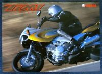YAMAHA TDM 850 MOTORCYCLE SALES BROCHURE 1999 JAPANESE.