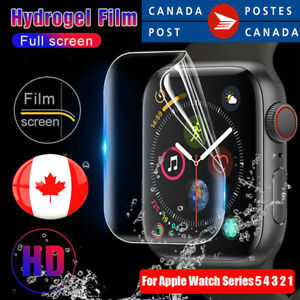 Apple Watch Full Cover Hydrogel soft Film Screen Protector For iwatch 5 4 3 2 1