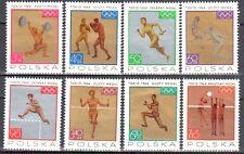 Poland 1965 - Sport - Polish Medal Winners - Mi 1623-30 - MNH (**)