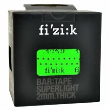 Fizik Superlight Glossy Touch Handlebar Tape With Logos Thickness 2mm, Green
