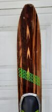 "Vintage O'Brien Competition 66"" Wood Slalom Water Ski"