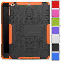 "Tough Heavy Duty Rubber Case Cover For New iPad 6th Gen 9.7"" 2018 A1893 A1954"