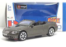 "Bburago 30000  BMW 645 CL ""Grigio cromato"" - METAL Scala 1:43"
