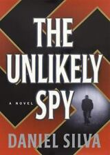The Unlikely Spy by Daniel Silva (1996, Hardcover)
