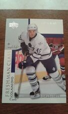 2002-03 UD Upper Deck Honor Roll RC 1452/1499 Carlo Colaiacovo Card 128