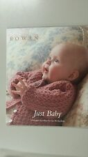 Rowan Just Baby Knitting Book 19 Designs by Lisa Richardson 78 Pages