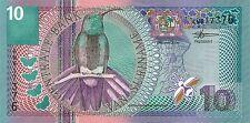 Surinam/surinam 10 florines 2000 pick 147 UNC