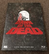 DAWN OF THE DEAD Blu Ray 4 Disc, LIMITED to 1000 COLLECTOR'S Box, ALL 4 VERSIONS