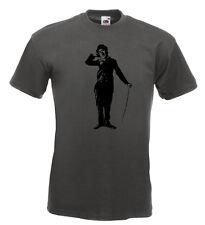 Charlie Chaplin T Shirt Laurel Hardy Ben Turpin Mack Sennett Keystone Cops NEW