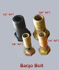 "Pipe 1/8"" NPT Thread Banjo Bolt Diesel Oil Fuel Fitting Boat N-GE"