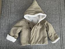 Petit Bateau Tan Baby Boy Hooded Jacket 12 Months 74
