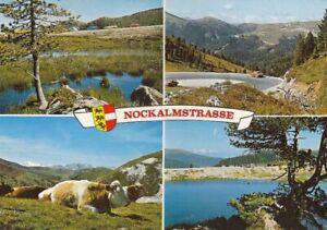 Nockalmstrasse, Kärnten, Mehrbildkarte gl1981 G1607