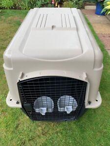 Large Dog Crate Petmate Sky Kennel Ultra - Black Finish