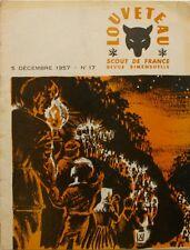 Louveteau n°17 - 1957 - Scout de France - Fabrciation d'une Corbeille à Papier -