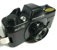 Pentax Auto 110 Mini Film SLR camera + 24mm F2.8 Lens UK Fast Post