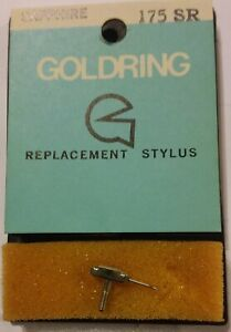 Stylus Vintage Record Player Needle Goldring 175SR, New, old shop stock