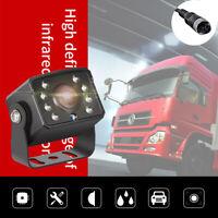 8 LED Car Rear View Reverse Parking Camera Night Vision HD Cam Waterproof 4Pin