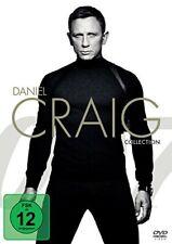 CASINO ROYALE + EIN QUANTUM TROST + SKYFALL + SPECTRE (4 DVDs) NEU+OVP