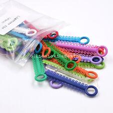 Dental Ligature Ties Orthodontics Elastic Multi Color Rubber Bands 1040 Pcs/Pack