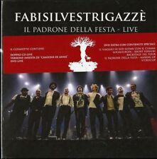 Fabi Silvestri Gazzè Il Padrone Della Festa Live (Box 2 Cd + 2 Dvd) Sealed