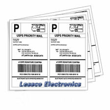 5,000 Self Adhesive Shipping Labels 2,500x2 Per Sheet 8.5 x 5.5 eBay UPS USPS