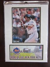 Mike Piazza USPS Photo and Event Cover 4/1/02 40th Anniv. Shea Flushing NY