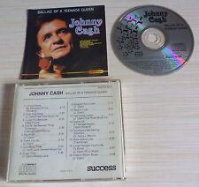 CD ALBUM BALLAD OF A TEENGE QUEEN JOHNNY CASH 16 TITRES