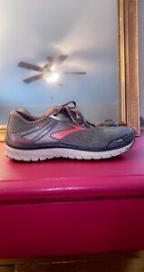 ! Brooks Adrenaline Running GTS18 Women's Running Shoes Gray Size 10.5 M