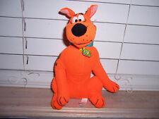 "Toy Factory 8"" Scooby Doo Fluorescent Orange Plush"