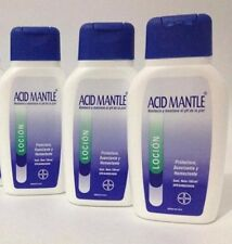 Acid Mantle, BAYER Lotion, Restores and  Maintains the PH of the skin . 400ml