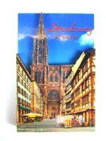 Straßburg Elsaß 3 D Holz Souvenir Deluxe Magnet Frankreich France Neu