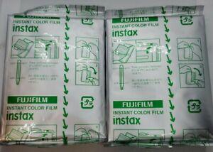 Fujifilm Instax Instant Film Color Picture Expired 12/2018