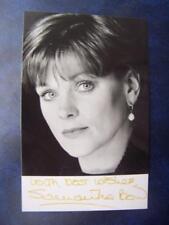Samantha Bond - Autograph (BC2)  5.5 x 3.5  inch