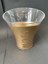 Moët Chandon Imperial Gold Champagner Kühler Ice Bucket Acryl Deko