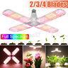 1/2/4X 250W E27 LED Grow Light Bulb Sunlike Full Spectrum Hydroponic Plant Lamp