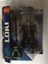 Marvel Select Thor Movie LOKI 7in Action Figure Diamond select toys =SUPER RARE=