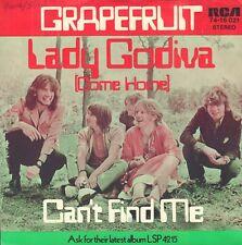 "GRAPEFRUIT – Lady Godiva (Come Home) (1970 VINYL SINGLE 7"" GERMANY)"