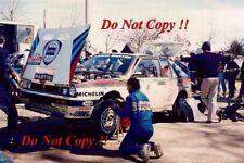 Miki Biasion Martini Lancia Delta Integrale Portugal Rally 1989 Photograph 2