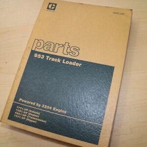 CAT Caterpillar 953 Track Loader Parts Manual Book Catalog 77Y series crawler